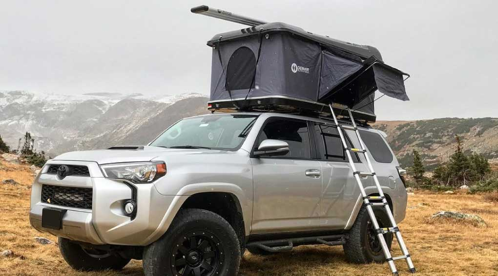 Roof top tent vs ground tent 1