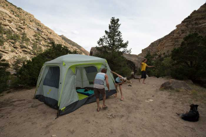 Roof top tent vs ground tent 4