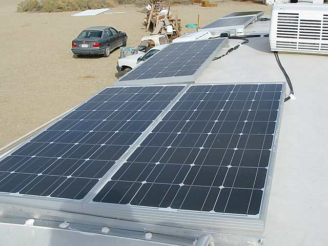 How to install solar panel on RV