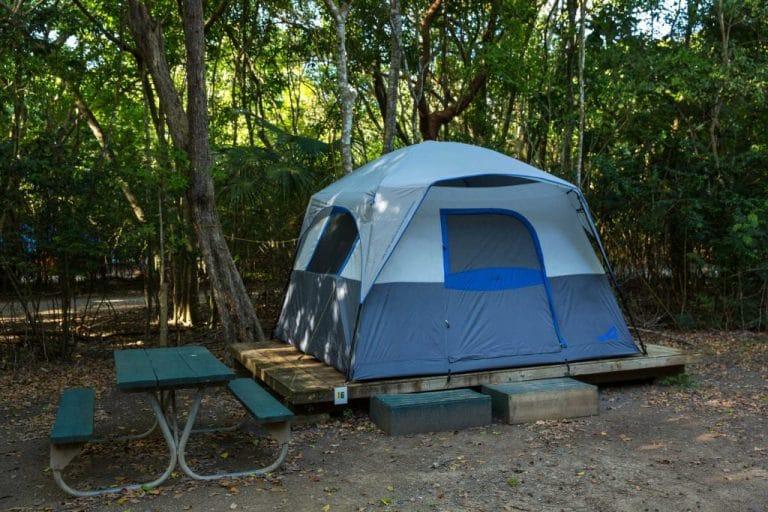 RV vs Tent Camping 4