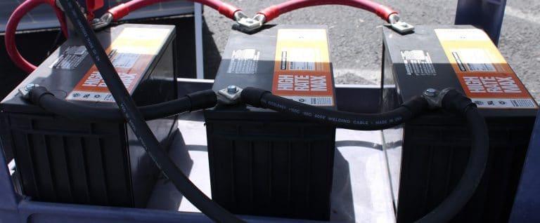 charging rv batteries deep cycle